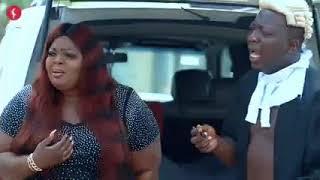 Brodashaggi and co got beaten by Eniola Badmus