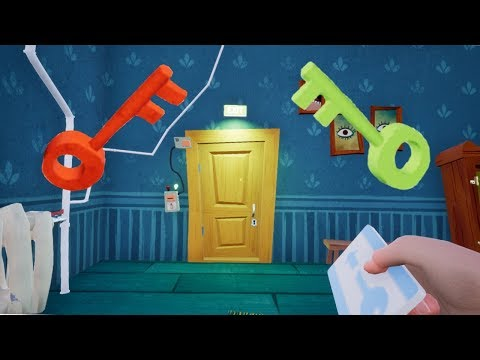 Hello Neighbor Beating ACT 3 Guide! Part 1 (House) READ DESCRIPTION