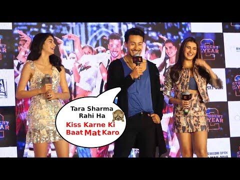 Tiger Shroff And Ananya Pandey Making Fun Of Tara Sutaria SOTY 2 Song Launch