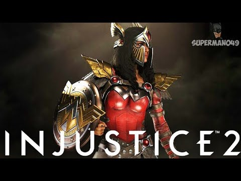 Injustice 2: *New* Epic Gear First Look! - Injustice 2 New Wonder Woman Epic Gear