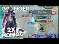 New Hero Granger 2x MANIAC Gameplay! 21-2-4 KDA! | Mobile Legends - Gameplay | MLBB