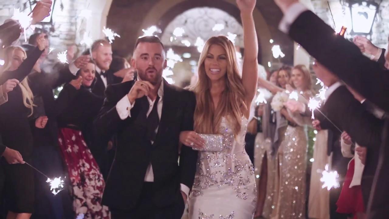 Nascar Driver Austin Dillon and Whitney Ward Dillon Wedding Video