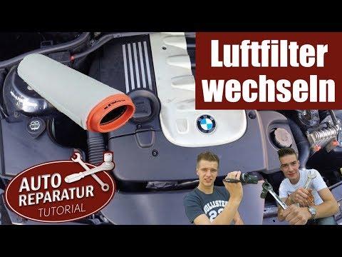 luftfilter wechseln bmw e46 e39 330d 520d tutorial hd. Black Bedroom Furniture Sets. Home Design Ideas