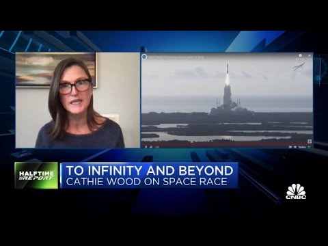 Ark's Cathie Wood: Space tech costs are 'all coming down dramatically'
