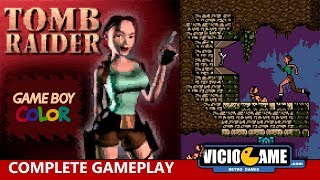 🎮 Tomb Raider (Game Boy Color) Complete Gameplay