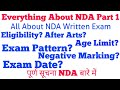Everything About NDA Part-1 (Complete NDA Written exam detail)