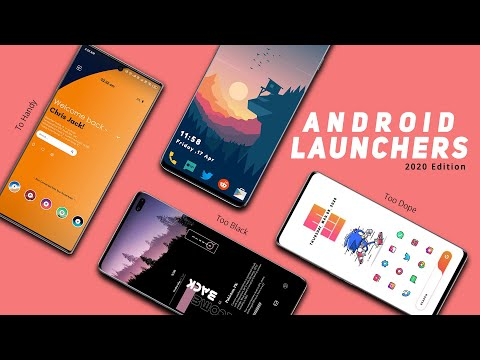 10 MUST HAVE Best Android Launcher Apps In 2020   Top Android Launchers
