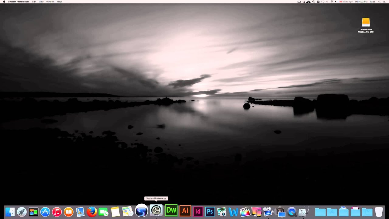 how to set a picture as desktop wallpaper on mac - youtube