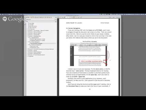 Adobe Reader for Lawyers