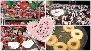Cuối Tuần Làm Bánh DONUT ♥ Đi Target & Chuẩn Bị Cho Valentine Ở Trường | mattalehang