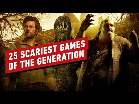 The Top 25 Scariest Games Of This Generation