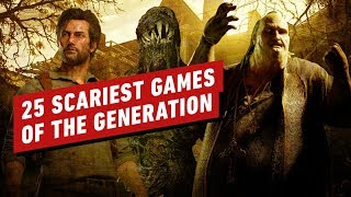 The Top 25 Scaŗiest Games of This Generation