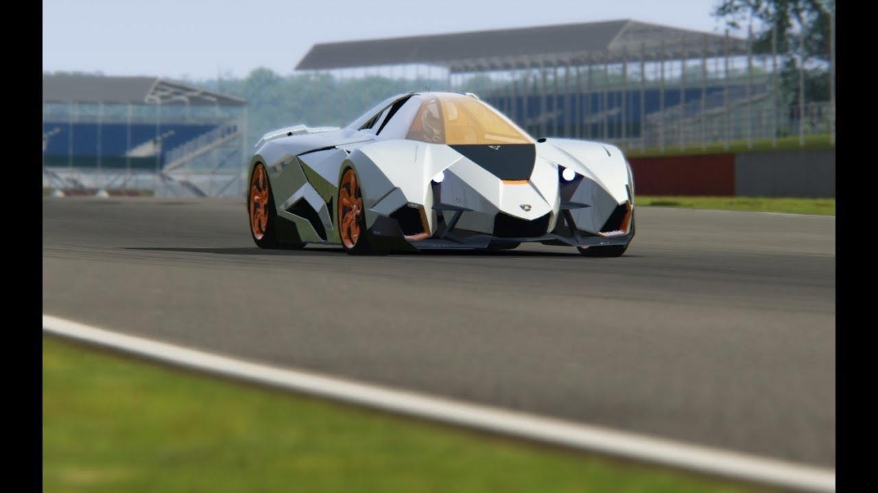 Lamborghini Egoista Top Gear Testing at Silverstone - YouTube