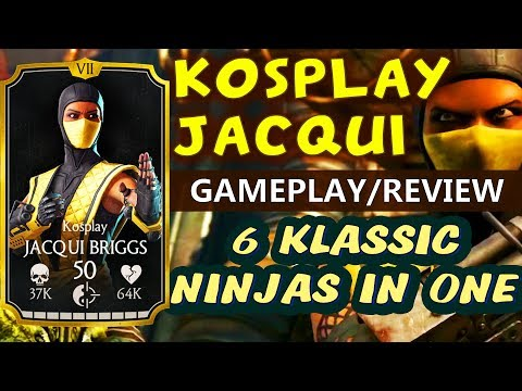 MKX Mobile 1.16 Update. Kosplay Jacqui Briggs Gameplay, Review. I LOVE THIS GIRL:)