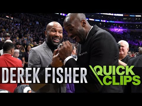 Derek Fisher Shares His Thoughts After The Passing Of Kobe Bryant