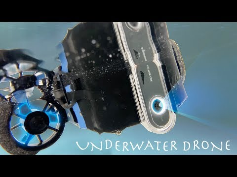 DIY Underwater Drone! COMPLETELY WIRELESS (4K 360 Camera)
