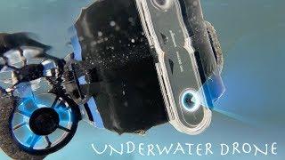 DIY Underwater Drone! COMPLETELY WIRELESS (4K 360 Camera)