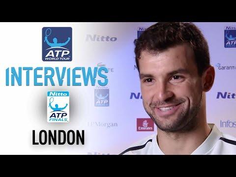 Dimitrov Happy To Get Through Carreno Busta Nitto ATP Finals 2017 Round Robin