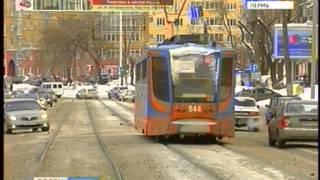 В Перми вновь сошёл с рельсов трамвай