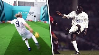 Jimmy Bullard Recreates | Tony Yeboah's LEGENDARY crossbar volley!