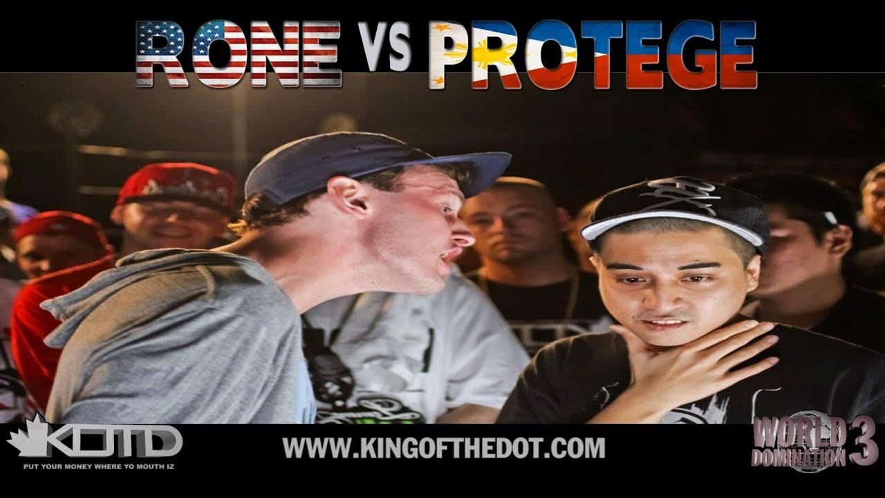 Download KOTD - Rap Battle - Rone vs Protege   #WD3