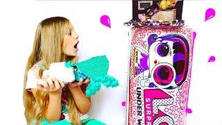 ДОМ ДЛЯ Кукол ЛОЛ в ГИГАНТСКОЙ КАПСУЛЕ????  LOL Surprise  dolls . Видео для детей