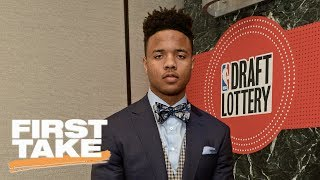 76ers Expected To Take Markelle Fultz | First Take | June 19, 2017 thumbnail