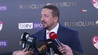 """Hidayet Türkoğlu: """"İnşallah şampiyonlukla bitirir ve kupayı ülkemize getirirler"""""""