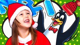 ЧЕЛЛЕНДЖ Дрожащий пингвин Строим Башню льдинок Shiver CHALLENGE