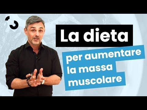 La dieta per aumentare la massa muscolare | Filippo Ongaro