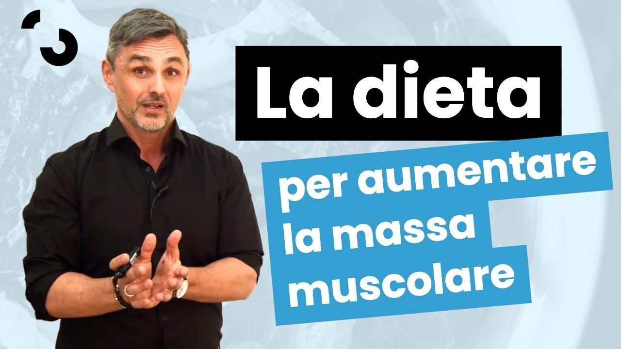 la migliore dieta per la massa muscolare