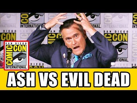 ASH VS EVIL DEAD Bruce Campbell Comic Con Interview