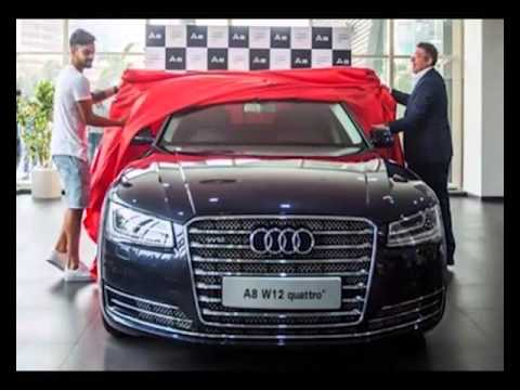 Virat Kohli Brings Home An Audi AL W Quattro YouTube - Audi home