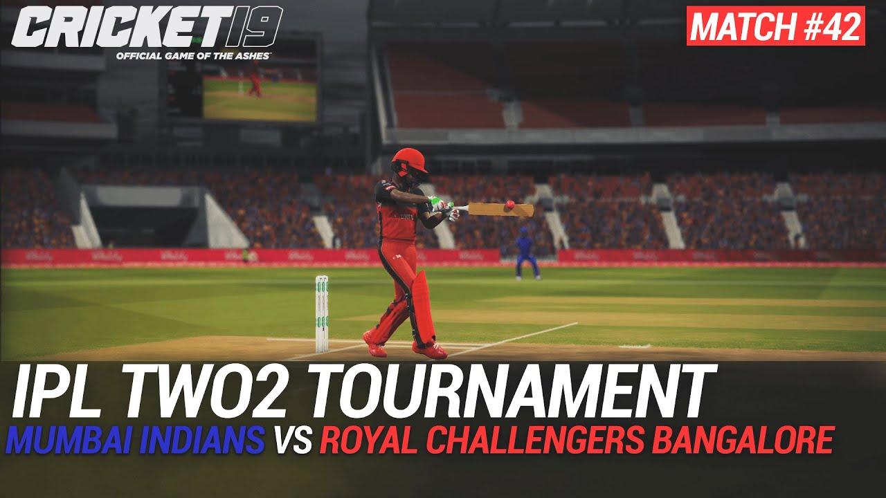 CRICKET 19 - IPL2020 TWO2 - MATCH #42 - MUMBAI INDIANS vs ROYAL CHALLENGERS BANGALORE