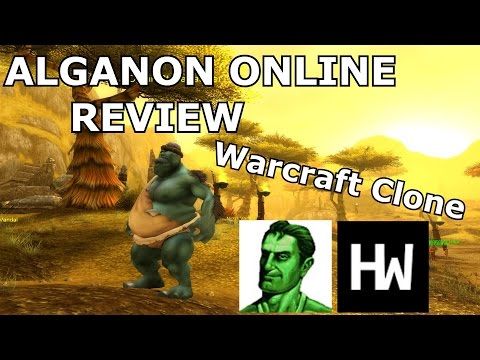 50 Shades of Warcraft Clones – Alganon Online Review – (Warcraft Clone)