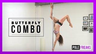Intermediate Pole Dance Butterfly Combination