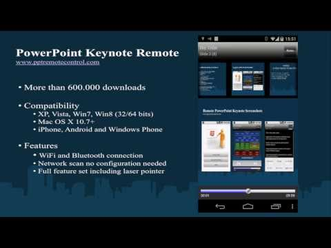 Android PowerPoint Keynote Remote for Windows & Mac OS X v3.6.1