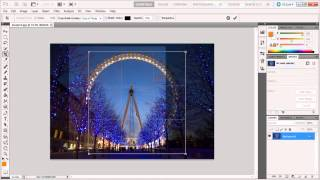 How to crop, hide and reveal all in Adobe Photoshop