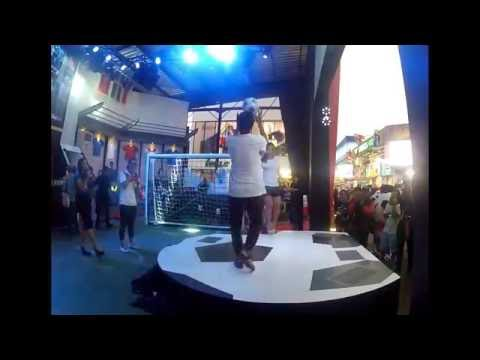 Freestyle Soccer Indonesia Hermanesia feat Raquel Benetti Female Freestyler from Brazil