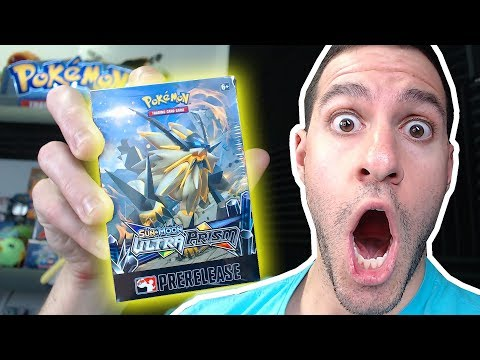 ULTRA PRISM PRERELEASE BOX OPENING! (early)