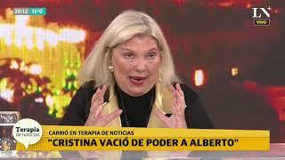 Elisa Carrió rompió el silencio: