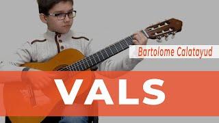 Уроки гитары Киев - Vals - Bartolome Calatayud. SERENADA.IN.UA