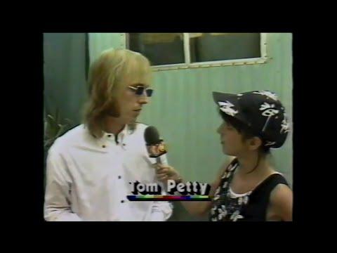 MTV Interview - Tom Petty (MTV - Live Aid 7/13/1985)