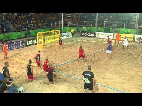 2014 game WC Recife Croatia Denmark semifinal