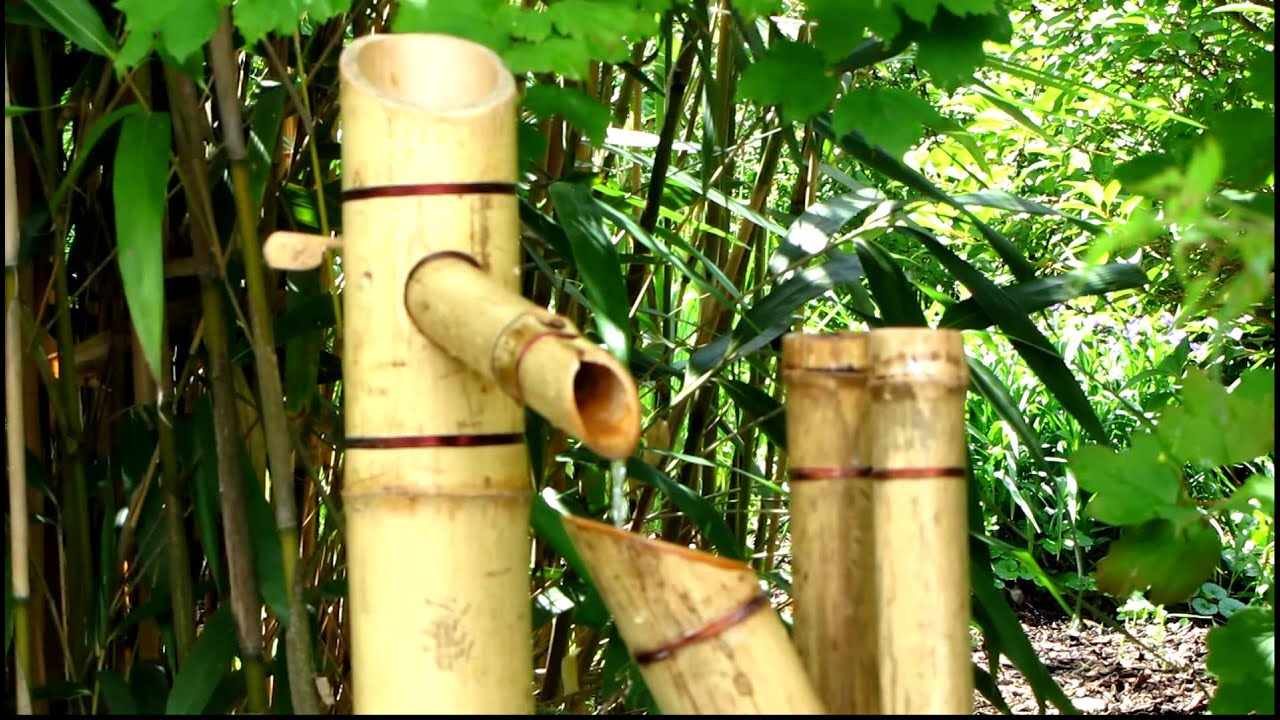 shishi odoshi (detail) - youtube, Best garten ideen