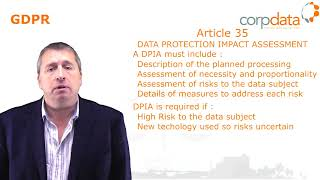 What are Impact Assessments? Part 20 in our Guide to GDPR in 1 minute bites