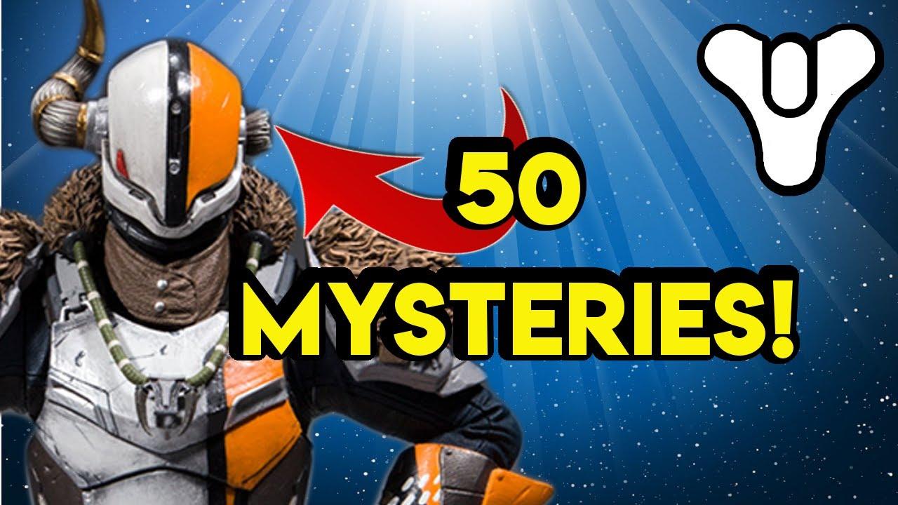 PART 4 Destiny 2 Lore 50 Mysteries | Myelin Games