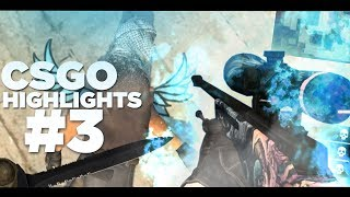 CSGO HIGHLIGHTS #3 (FRAGS, FUNNIES, FAILS) /w Mods