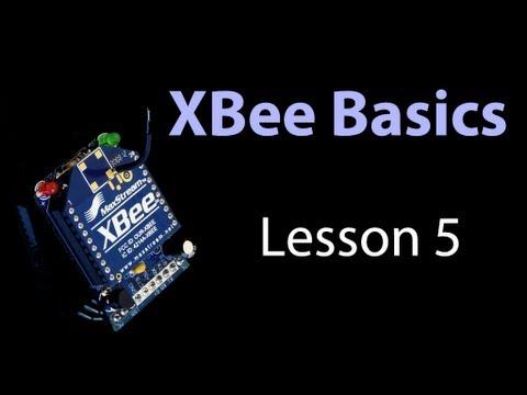 XBee Basics - Lesson 5 - API mode: Send Digital Output to a Rmote XBee