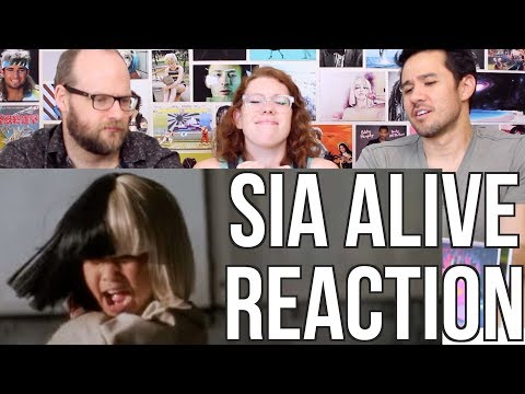 SIA - Alive Music Video - REACTION